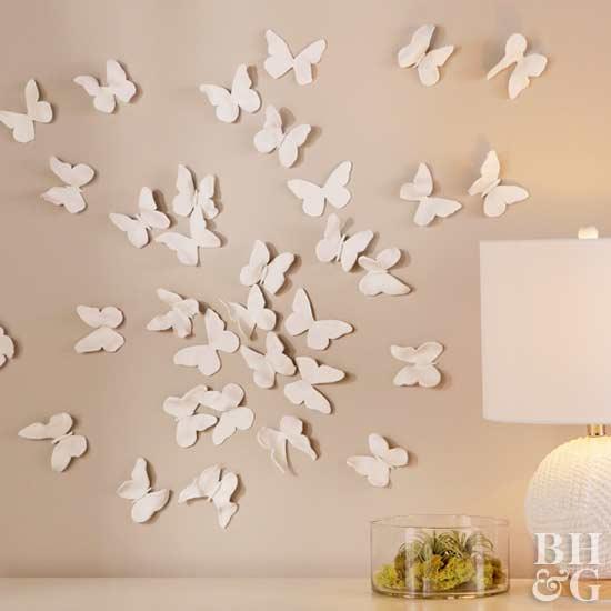 Original Filename: BHG517P29ACU_ButterflyWall, Butterflies, Video  Still, Wall Art