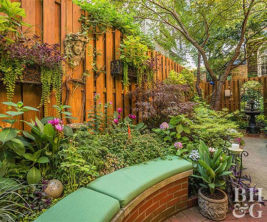 DIY Organic Pest Control. Flowers Bench Garden