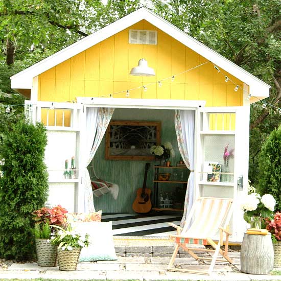 Bhg Storage Magazine: Top Tips For Building A Shed