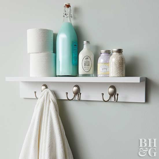 Delicieux Shelf With Hooks