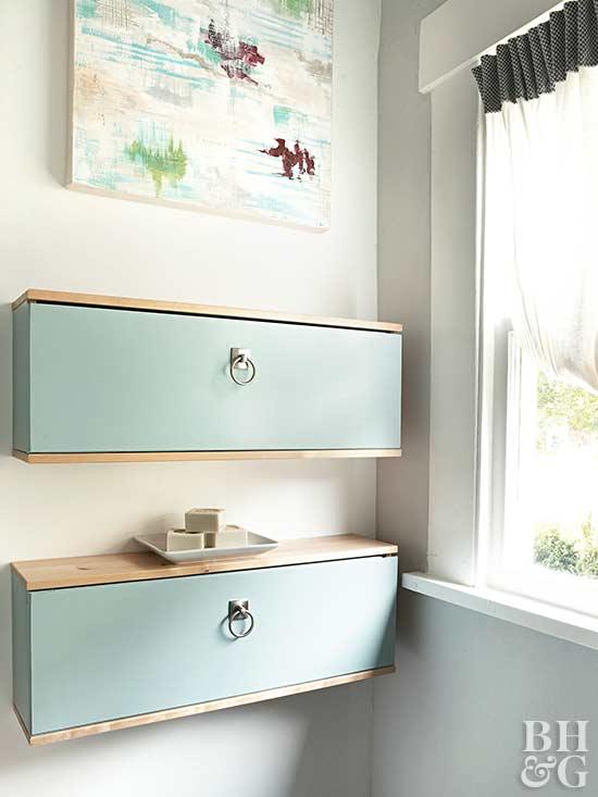 Floating Bathroom Cabinets