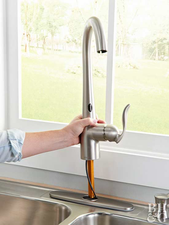 Step 1: Place Faucet