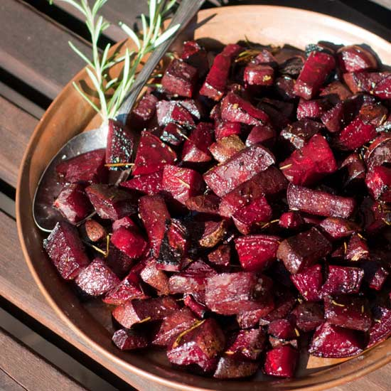 rosemary roasted beets