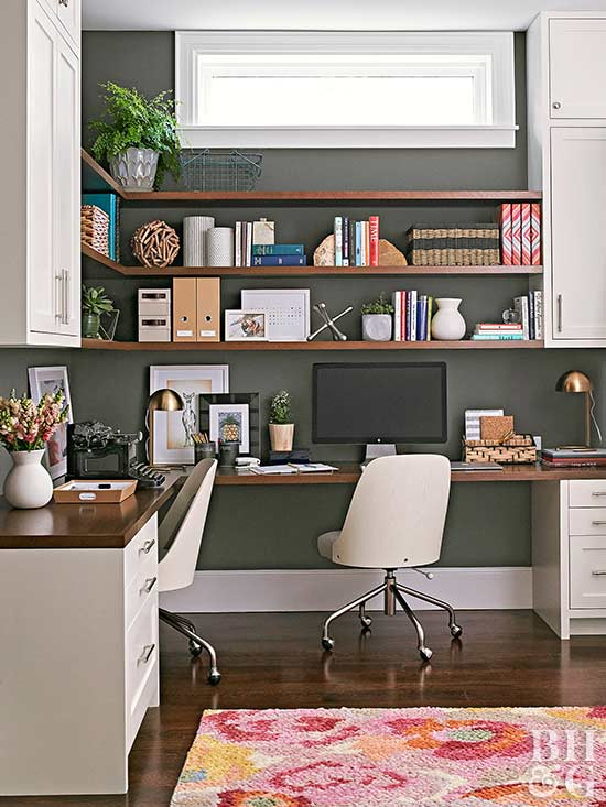 A Home Office, Whether Tucked Into A Kitchen Corner Or Encompasing A  Designated Room, Handles Multiple Operations. One Computer Station May  Accommodate A ...