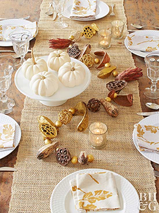 Fall Table Setting & Fall Table Settings