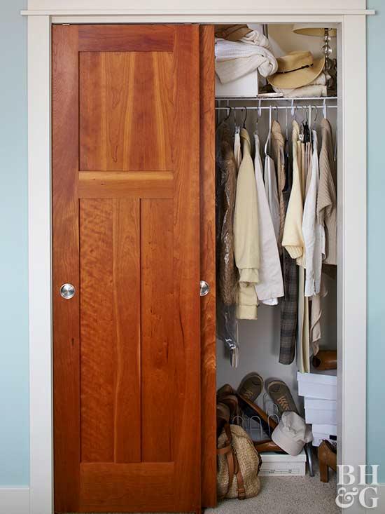 closet messy closet closet organization & How to Install Bypass Doors