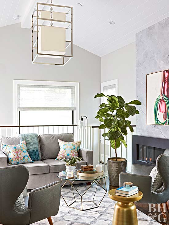 Gray living room decorating - How to decorate a gray living room ...