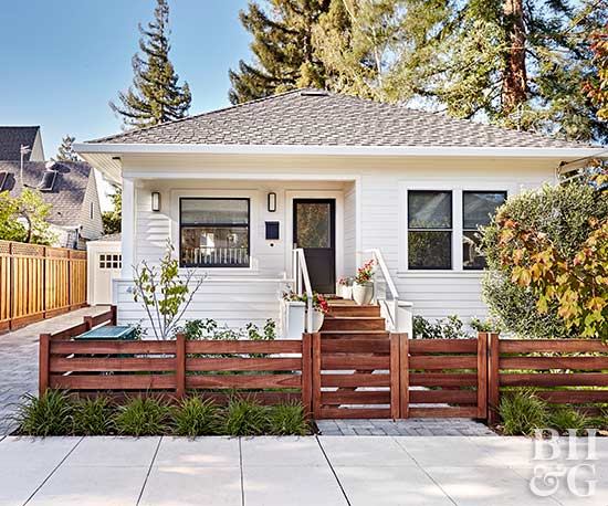 Build wooden exterior steps for Steps to building a house