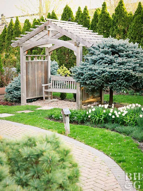 inspiring des moines home and garden show. BHG Test Garden pergola Visiting the