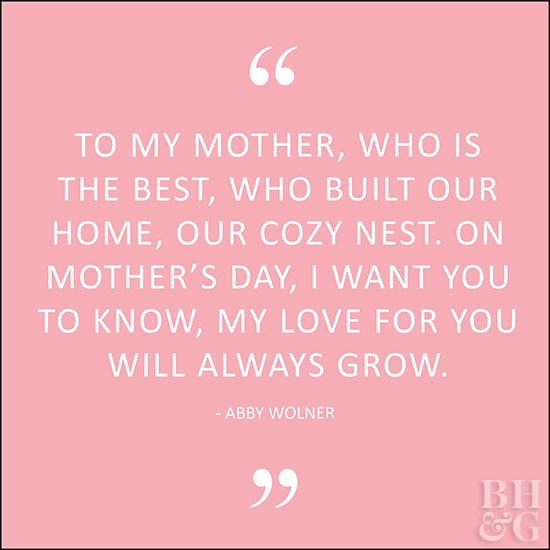 Mother Day Poems