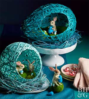 Easter diy wrapped easter eggs solutioingenieria Images