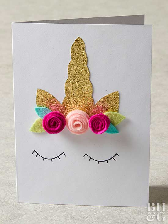 Fun Handmade Birthday Cards For Girls From Better Homes