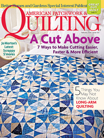 Subscribe to american patchwork quilting magazine for Better homes and gardens media kit