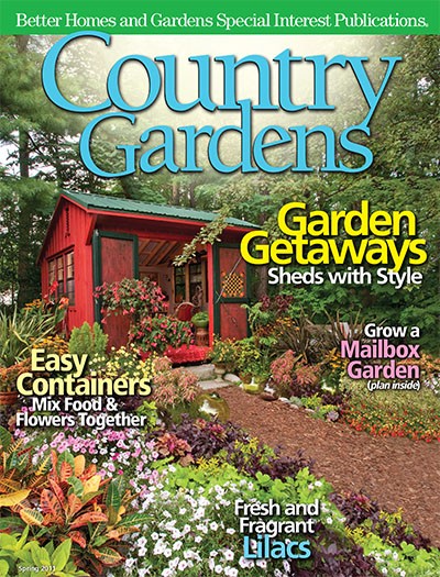 Subscribe to country gardens magazine for Better homes and gardens media kit