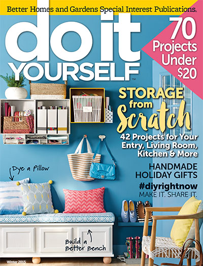 Subscribe to do it yourself magazine for Better homes and gardens media kit