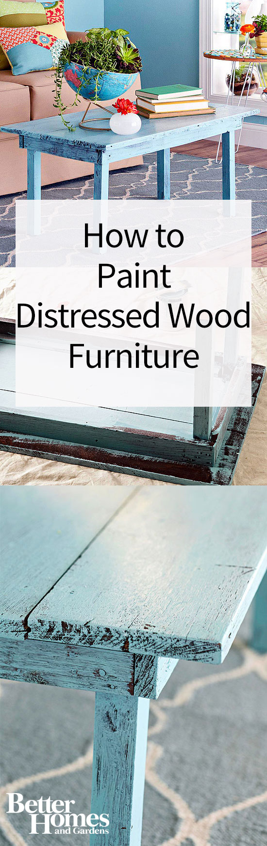 Editorsu0027 Top Finds. How To Paint Distressed Wood Furniture