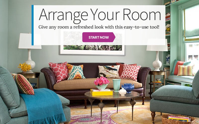 Arrange a room for Home decorating app