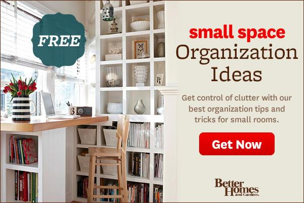 Small-Space Organization Ideas