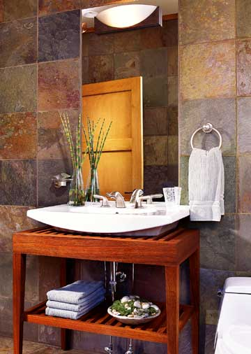 Exceptional Asian Influenced Bath