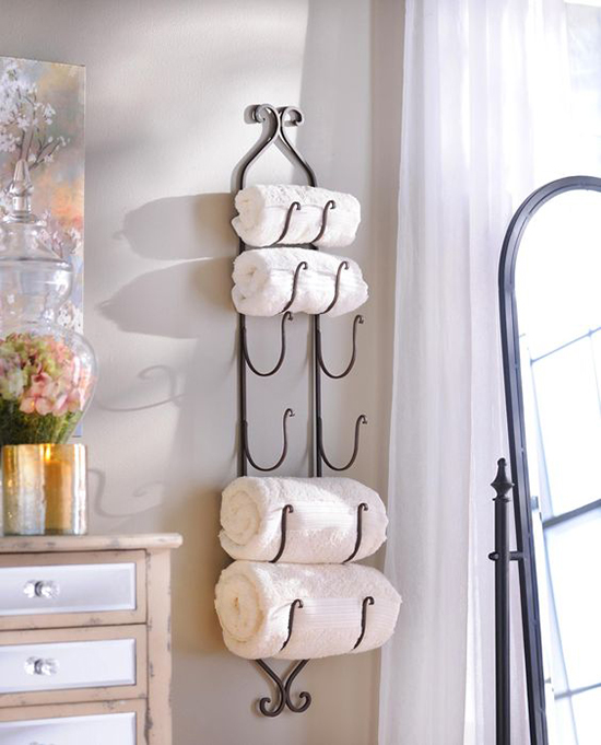 1. Towel Rack