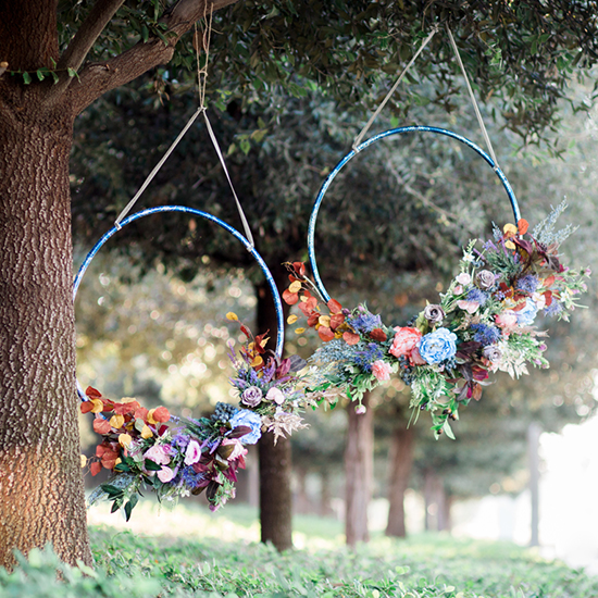 Hula Hoop Wreaths Are The Hottest Spring Trend Your Home Needs