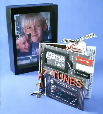 CD Holder & Shadow Box