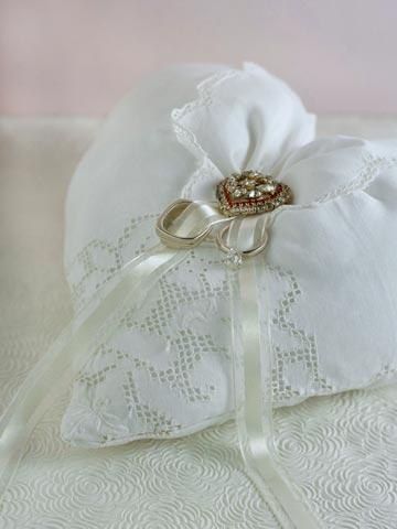 Ring Bearer Handkerchief Pillow