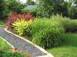 Scenes from the better homes and gardens test garden for Garden design quiz