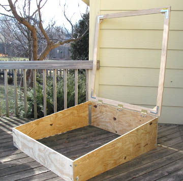 do it yourself instructions for an easy to make cold frame - Do It Yourself Framing