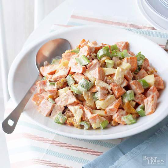 Sweet potato salad for Better homes and gardens potato salad