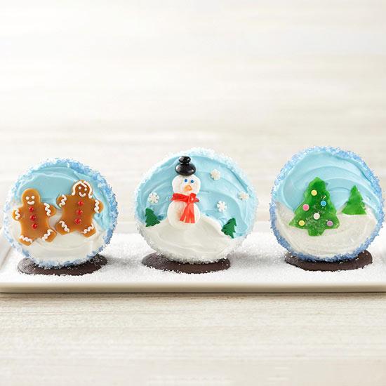 Creative Kids Christmas Cupcake Party