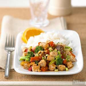 Asian Vegetarian Dinner