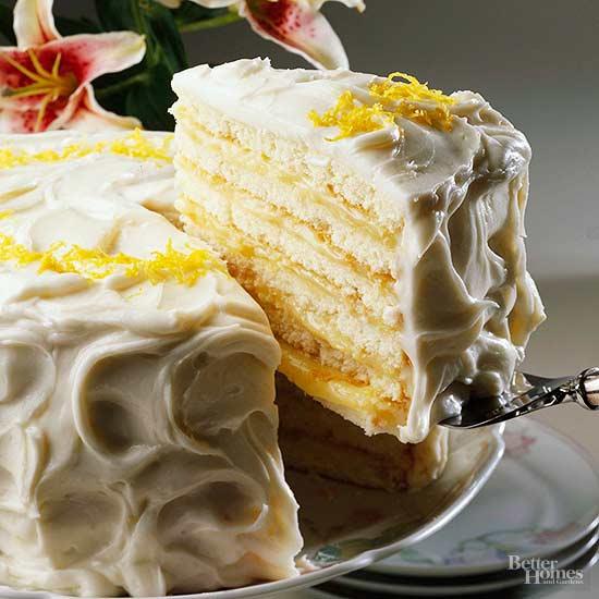 Lemon Dobash Cake Recipe