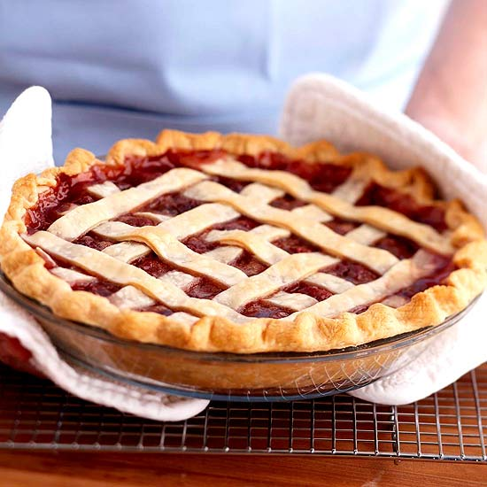 How to Make a Lattice Piecrust