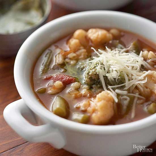 Vegetable Soup - Italian vegetable soup
