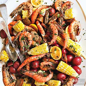 Shrimp And Sausage Boil