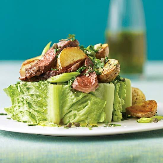 Steak and potato salad for Better homes and gardens potato salad