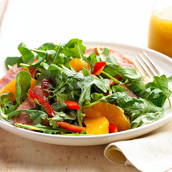 Smoked Turkey Salad With Oranges