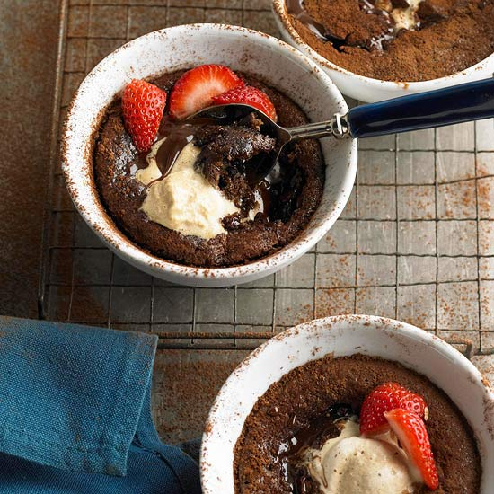 Gooey Chocolate Pudding Cakes - BHG