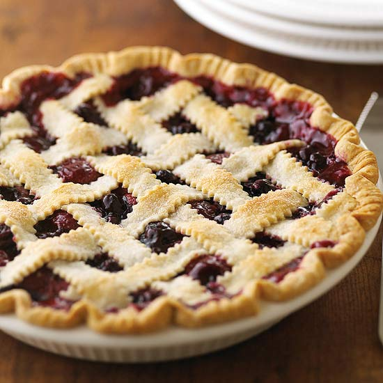 Triple Berry Pie Cake Recipe