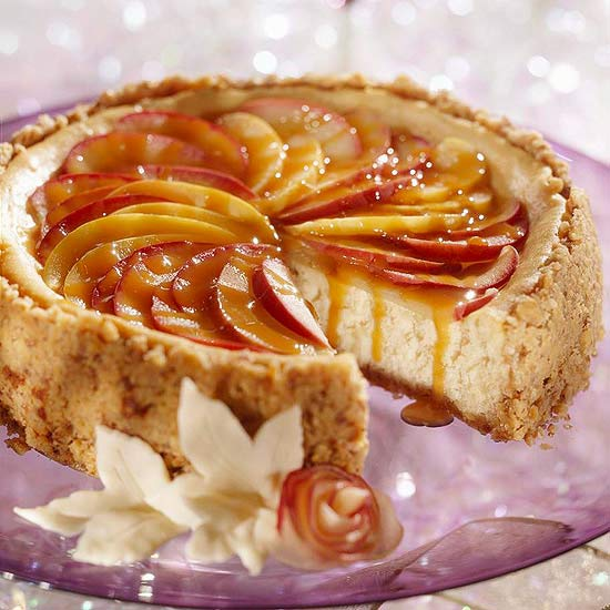Toffee Apple Cheese Cake
