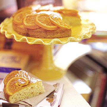 Ellen Rose's Candied Orange Cake