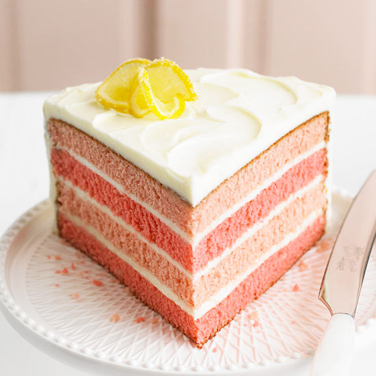 Pink Lemonade Layer Cake Better Homes And Gardens