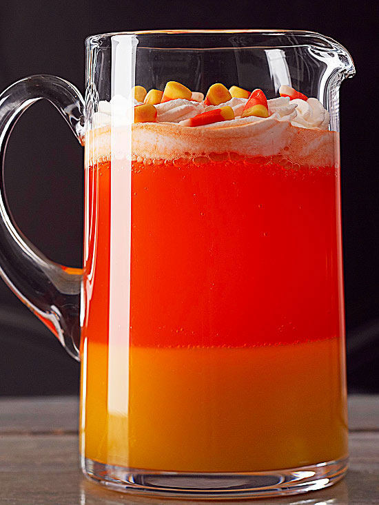 Easy Halloween Punch Recipes Non Alcoholic | Candy Corn Drink