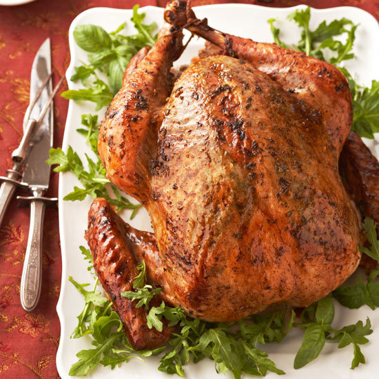 roast turkey unstuffed cooking time