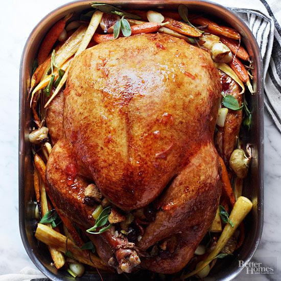 Marmalade Glazed Roast Turkey