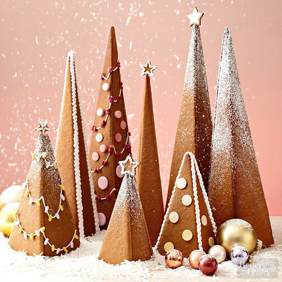 3 d gingerbread trees - Gingerbread Christmas Tree