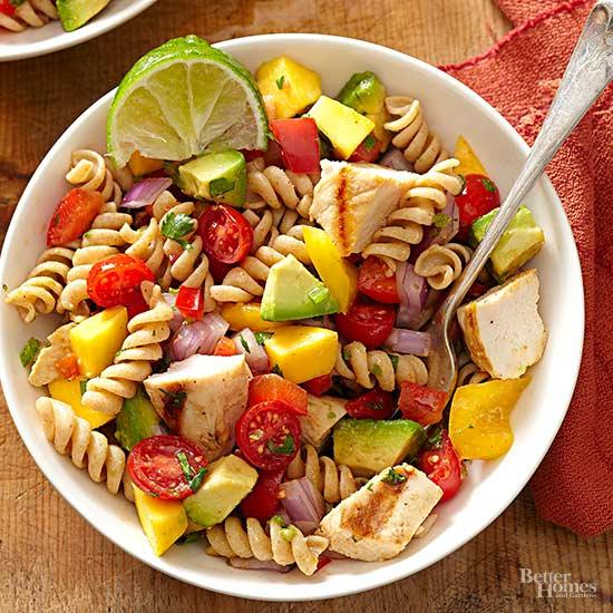 Healthy pasta salad recipes for Cold pasta salad ideas