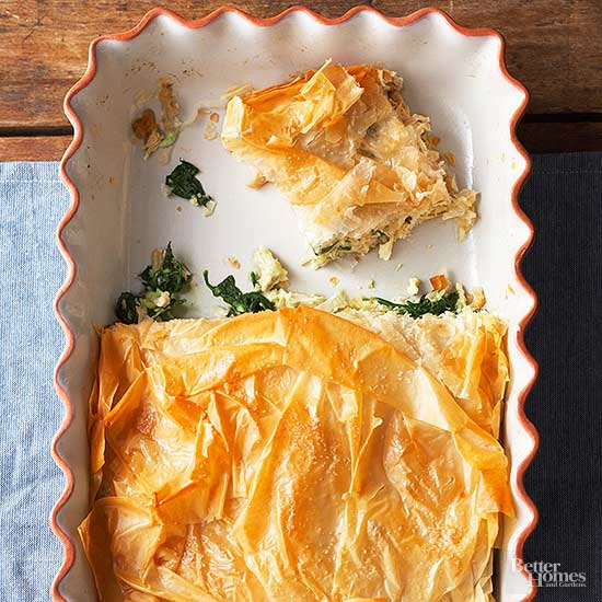 Ground Beef Phyllo Recipe: Chicken Phyllo Bake