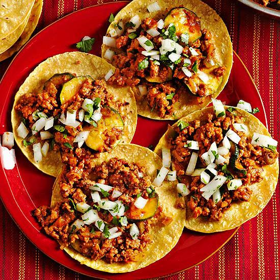 Chorizo Calabaza Tacos